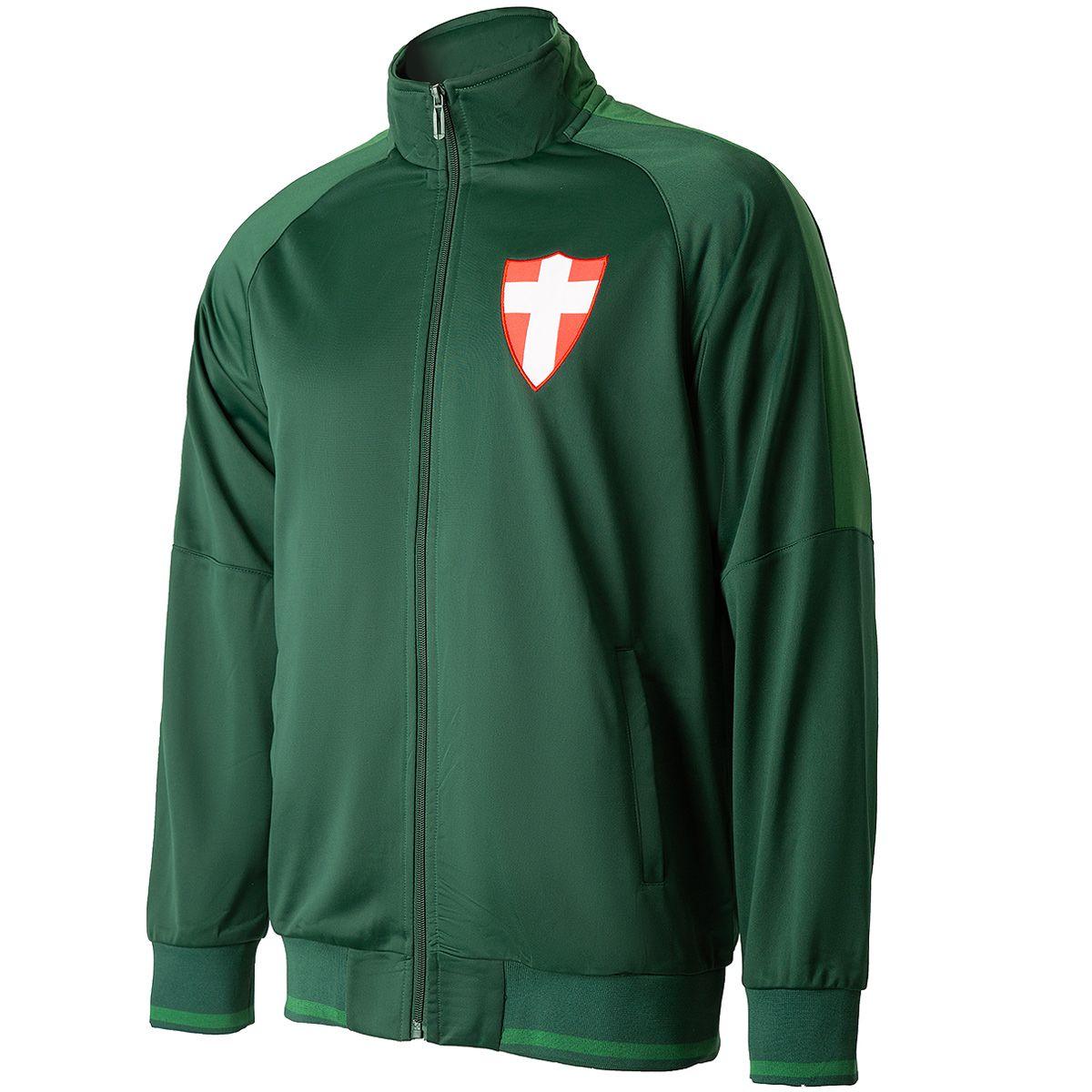Jaqueta Palmeiras Vintage Savoia Trilobal Verde