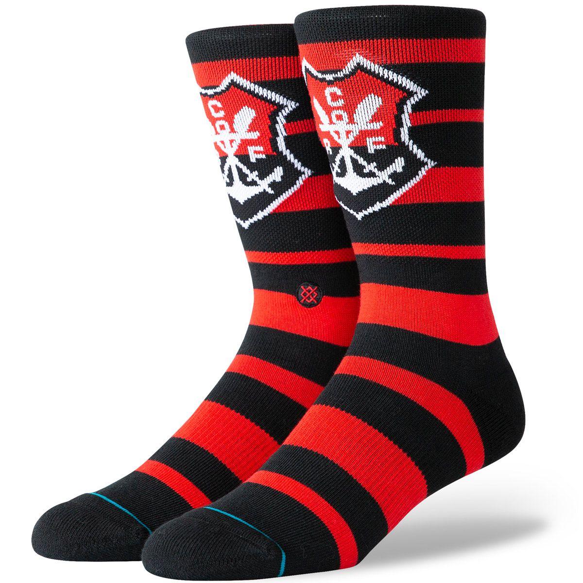 Meia Flamengo Stance Stripe