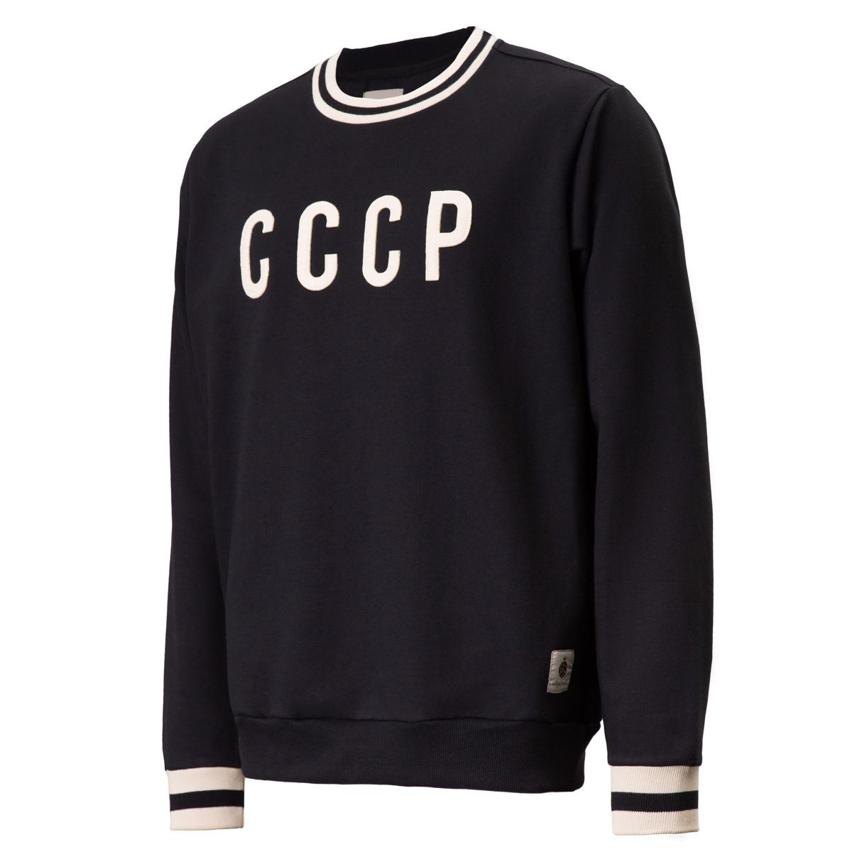 Moletom CCCP Retrô União Soviética Preto Masculino