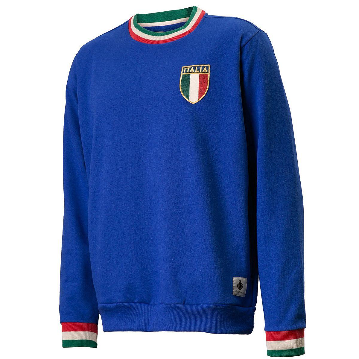 Moletom Itália Retrô 1982 Azul Masculino
