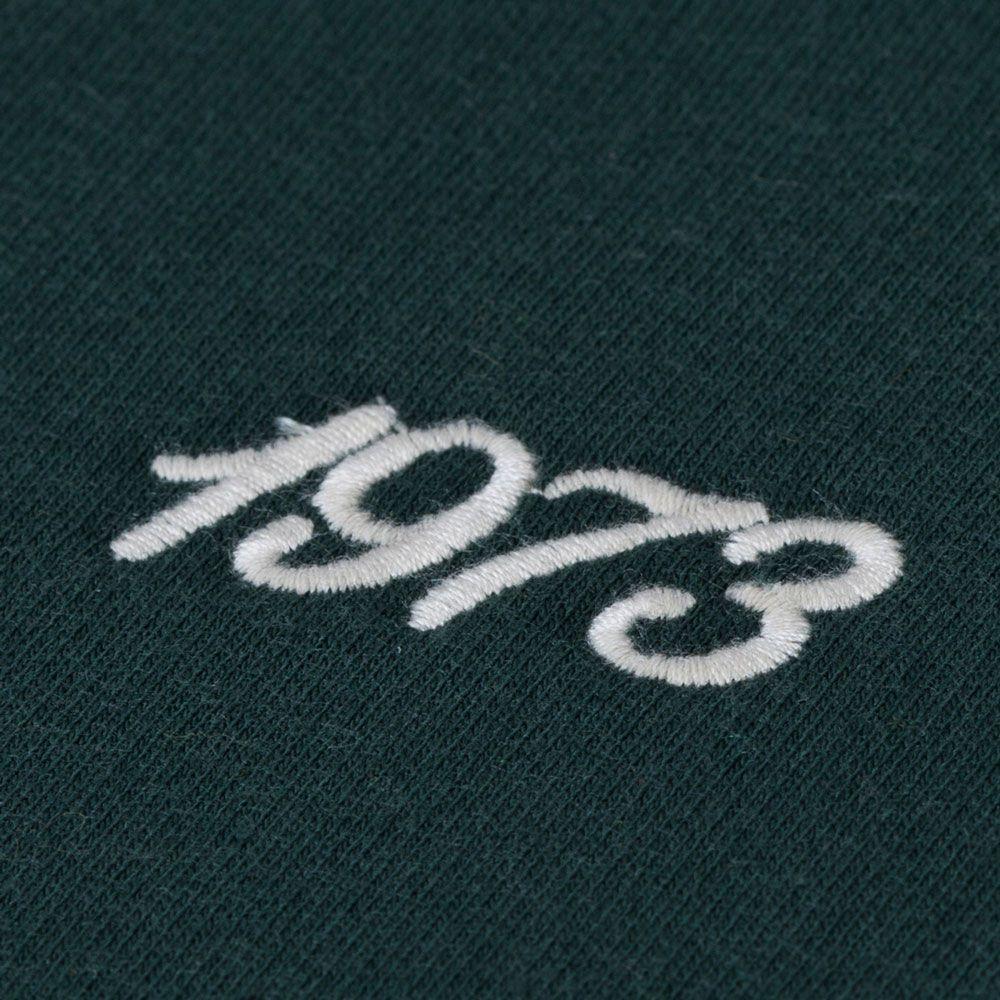 Moletom Retrô Gol Chapecoense 1973 Torcedor Capuz Verde Escuro