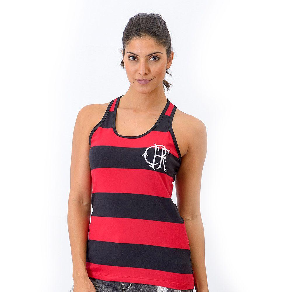 Regata Retrô Flamengo Tri Feminina