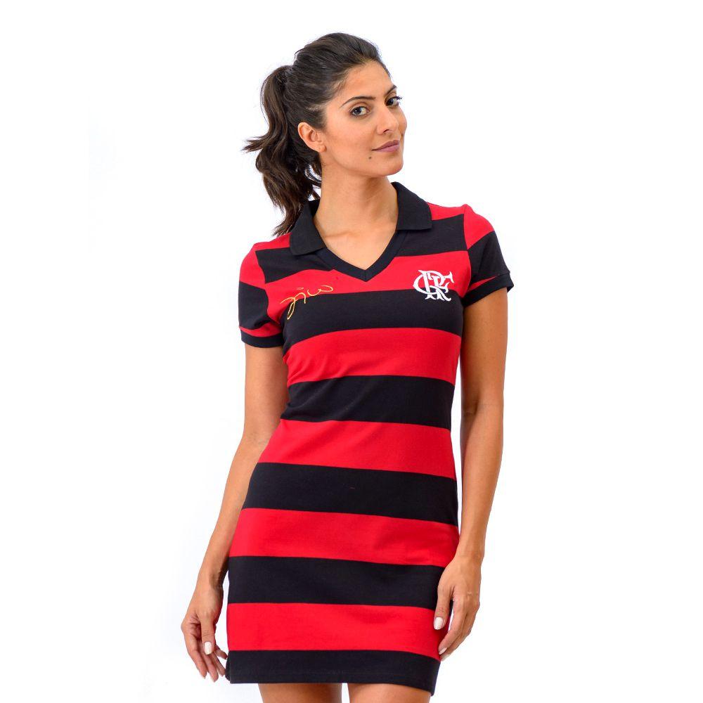 Vestido Flamengo Retrô Zico