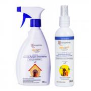 Kit ADF Pet Alerpet e Fluído Hidratante Alerpet - Trata e Previne Dermatite Atópica nos animais