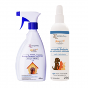Kit ADF Pet e Loção Higienizante Alerpet