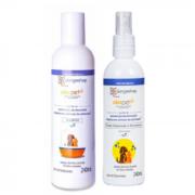 Kit Shampoo Alerpet e Fluído Hidratante e Preventivo Alerpet