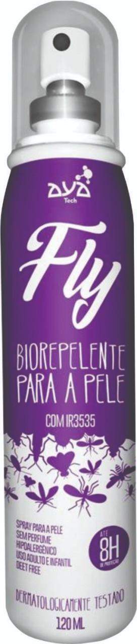 Biorepelente Fly para a pele AyaTech