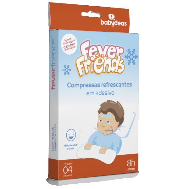 Compressas Refrescantes em Adesivo Fever Friends
