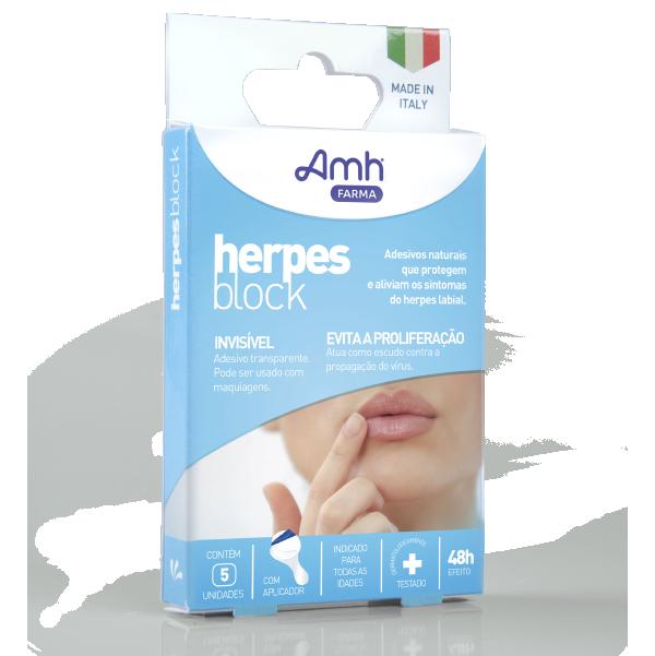 Herpes Block Reduz a Coceira e a Proliferação do Herpes Labial