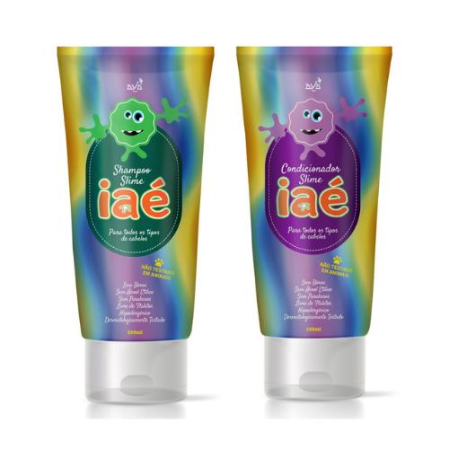 Iaé Shampoo e Condicionador Slime