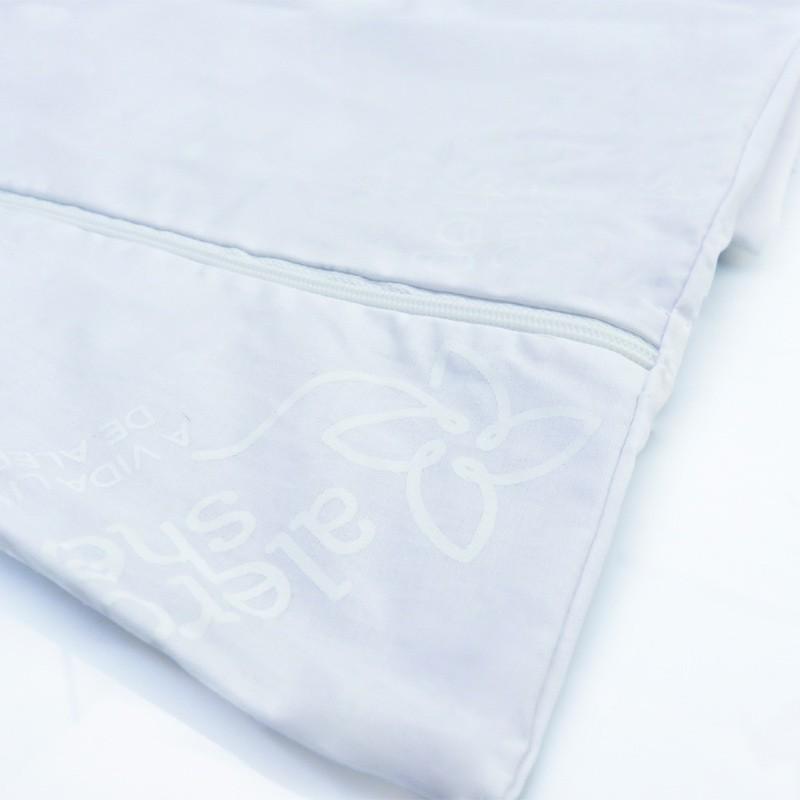Kit Acaricida Microbac e Capa Travesseiro Super Soft Alergoshop