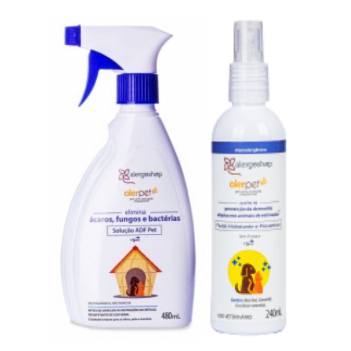 Kit ADF Pet Alerpet e Fluído Hidratante e Preventivo Alerpet