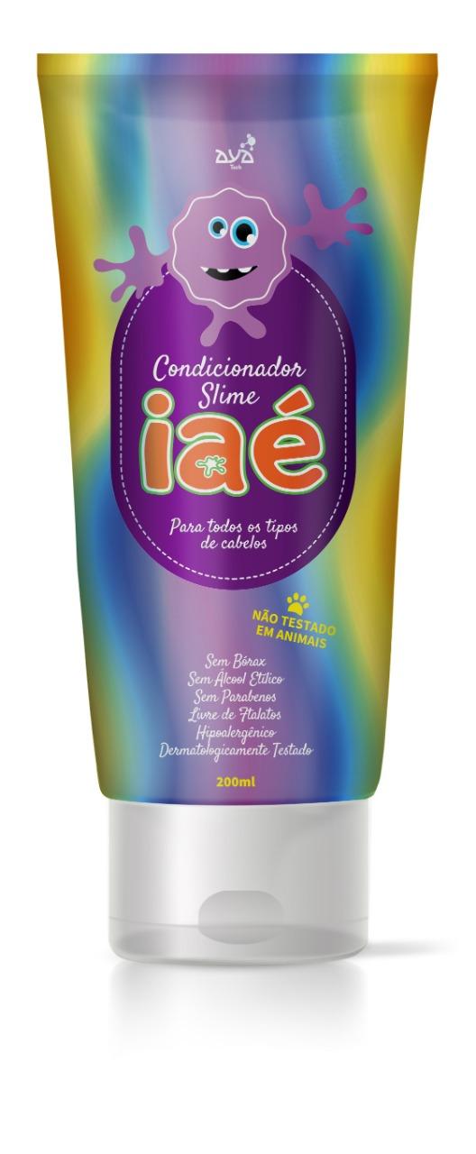 Kit Banho Completo Iaé Slime e Kit Antissépticos Gy para higiene total