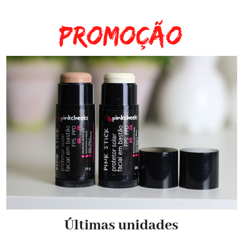 ... Protetor Solar Facial em bastão - Pink Cheeks - www.vivatez.com.br ... 1012c0f1d09b8