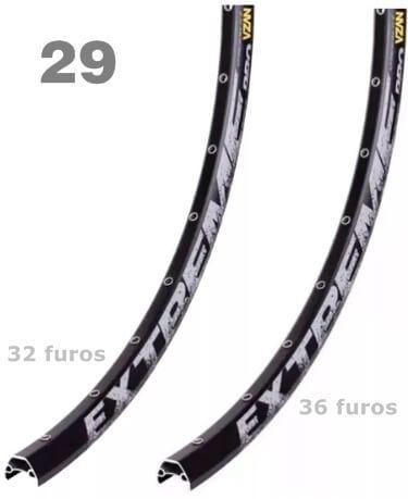 ARO 29 EXTREME PARA DISCO - VZAN - 32 OU 36 FUROS - PRETO