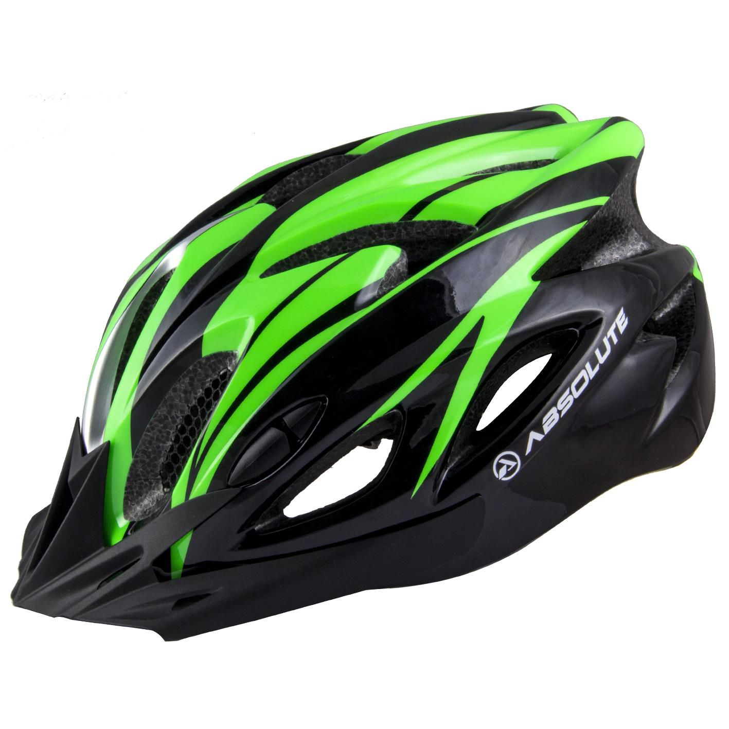 Capacete Ciclismo Bike Absolute Wt012 Led Pisca - Nero