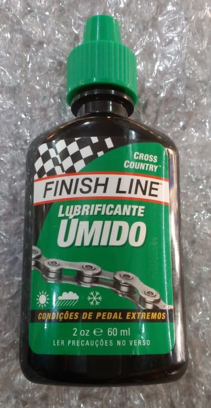 Lubrificante Corrente FINISH LINE Úmido Alta Performance MTB  / SPEED