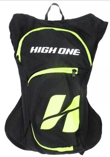 Mochila Hidratação High One 2 Litros Preto / Verde Neon
