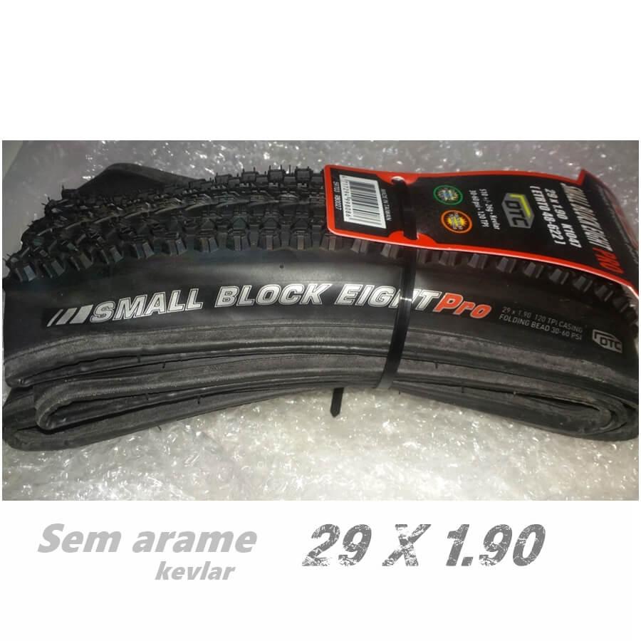 PNEU 29 X 1.90 SMALL BLOCK EIGHT  PRO - SEM ARAME - KEVLAR