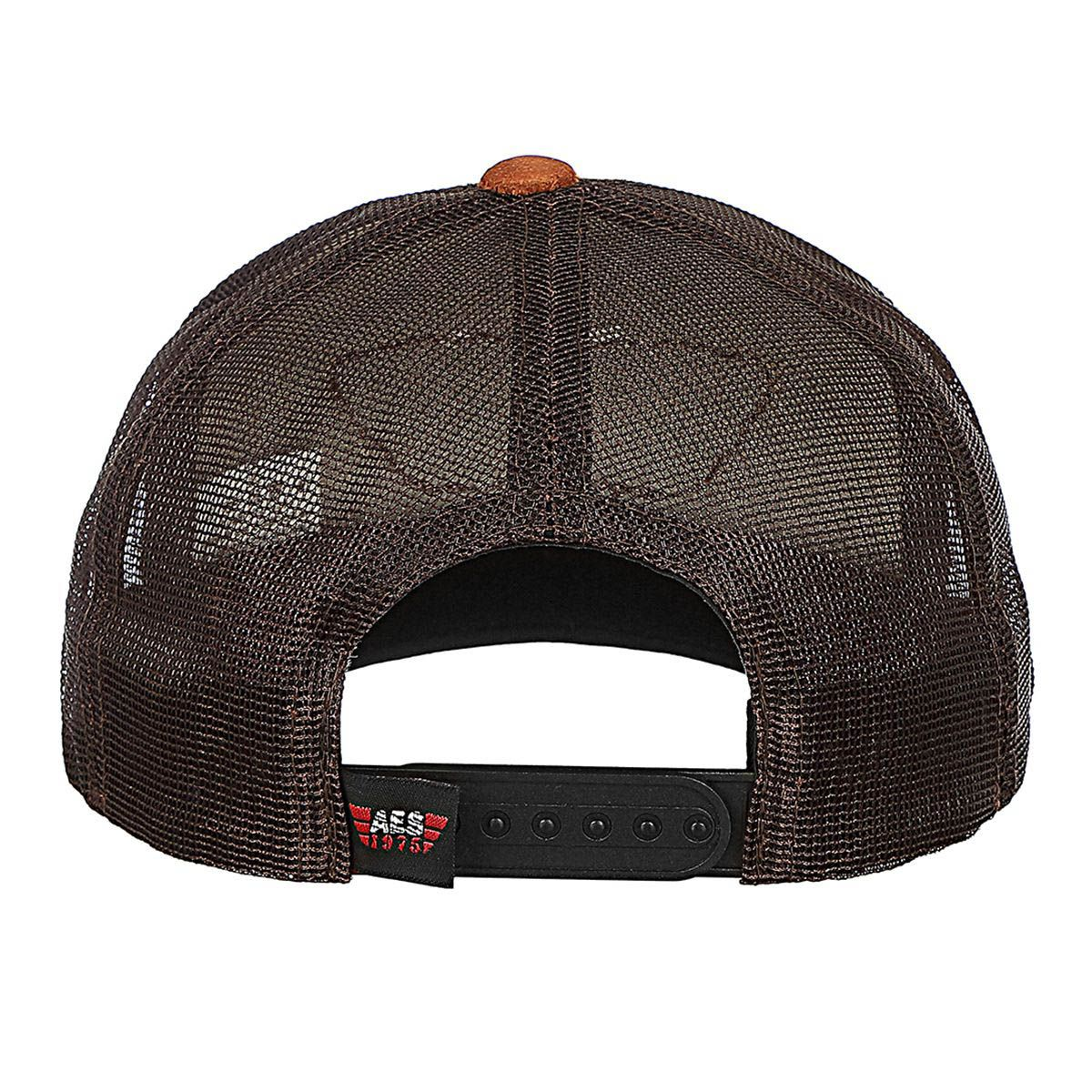 Boné AES 1975 Trucker Patch Bege