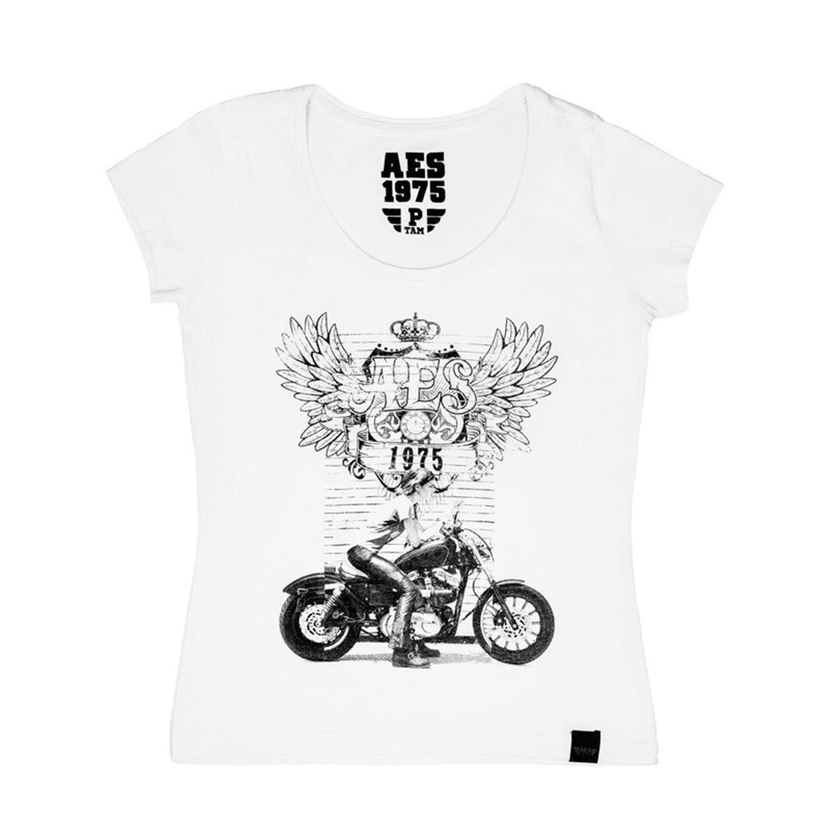 Camiseta AES 1975  Biker