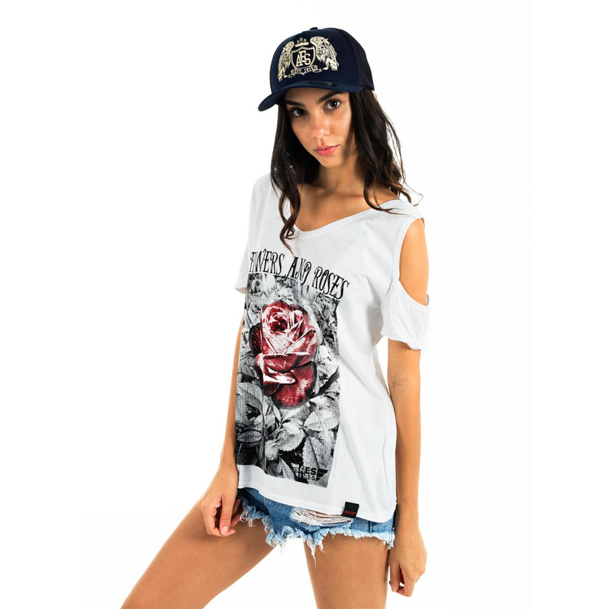 Camiseta AES 1975 Flowers and Roses