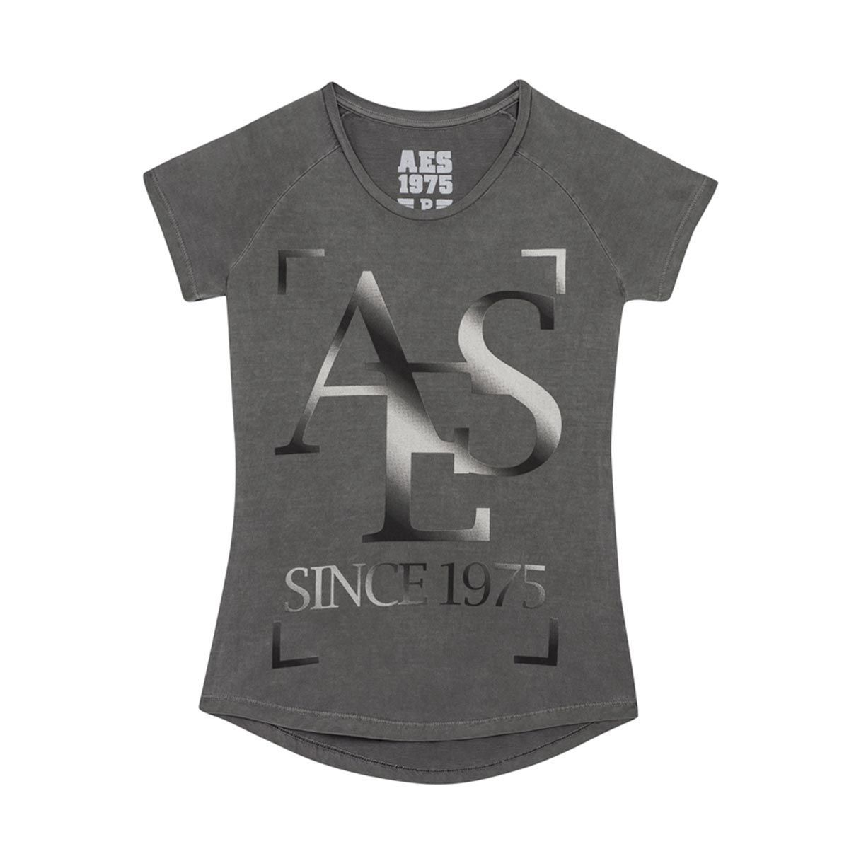 Camiseta AES 1975 Grey