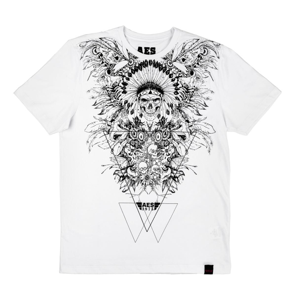 Camiseta AES 1975 Indian Skull