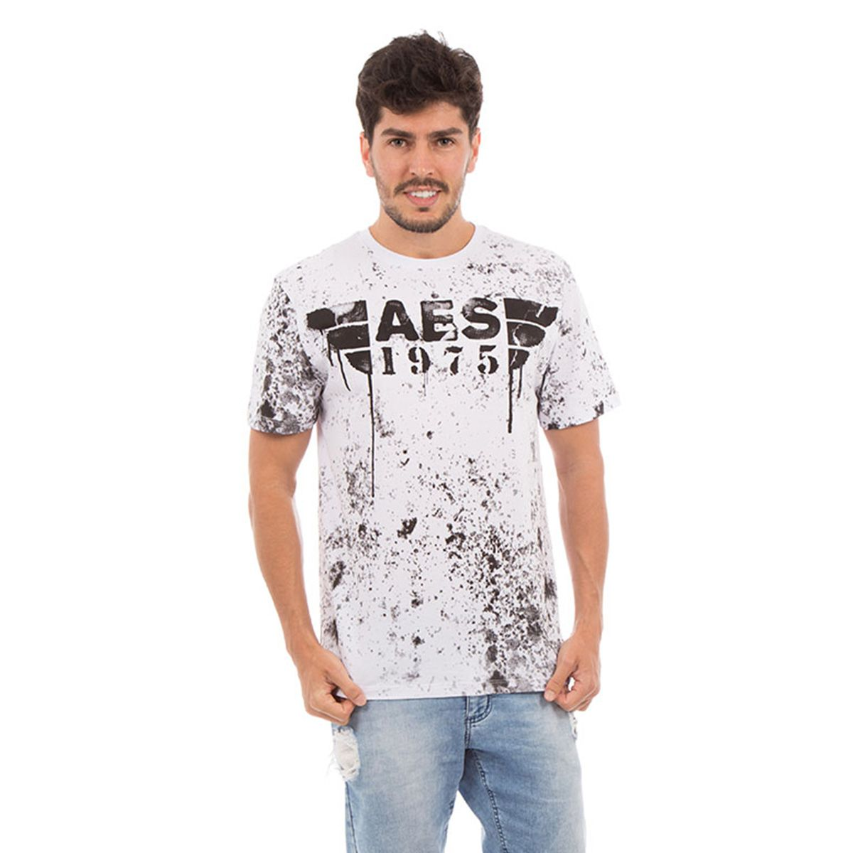 Camiseta AES 1975 Melted
