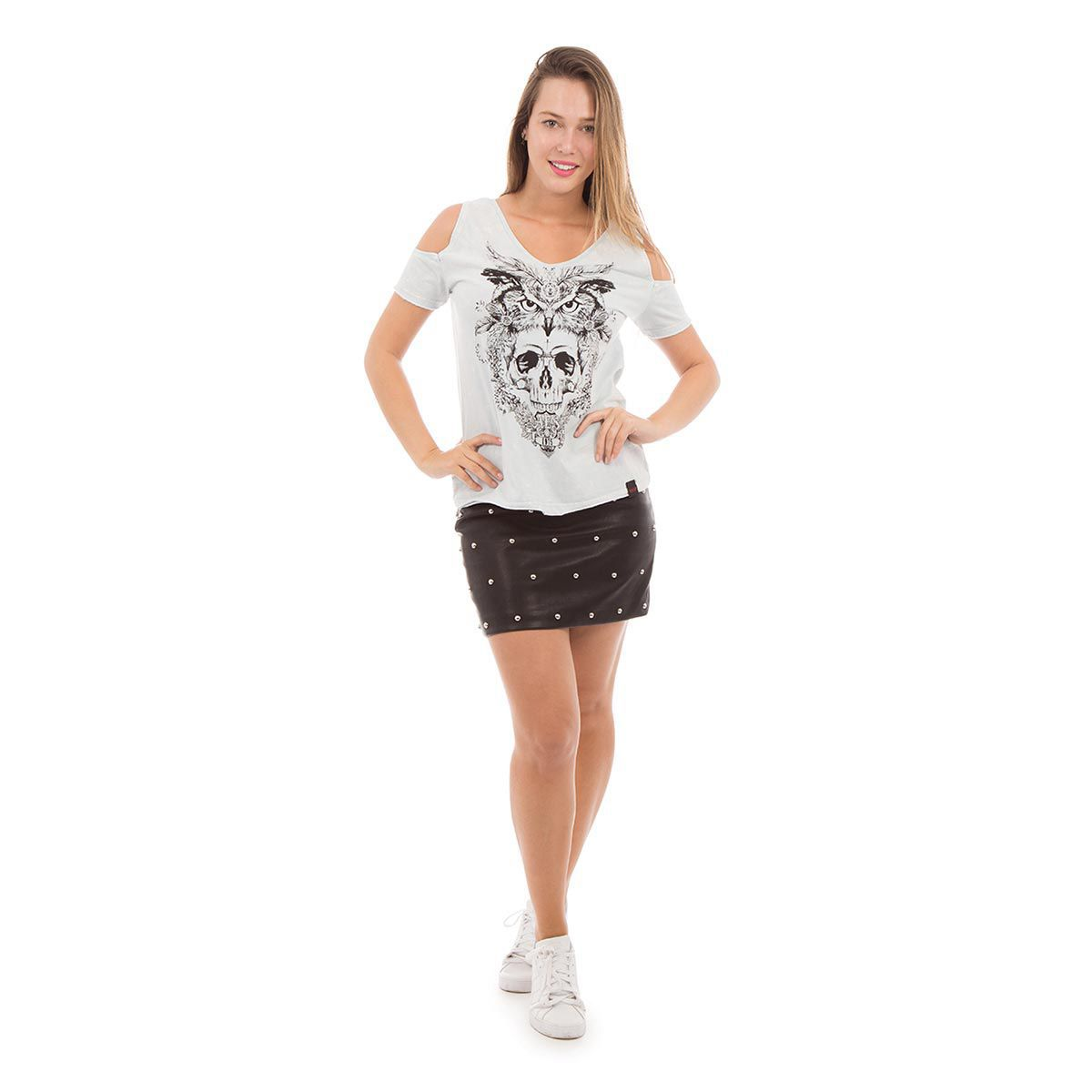 Camiseta AES 1975 Owl and Skull