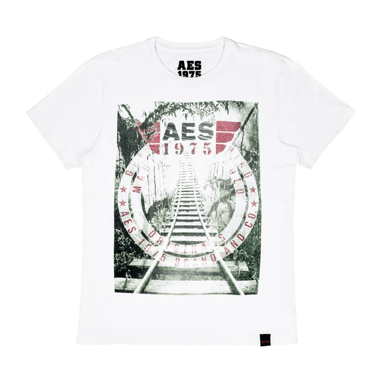 Camiseta AES 1975 Rails