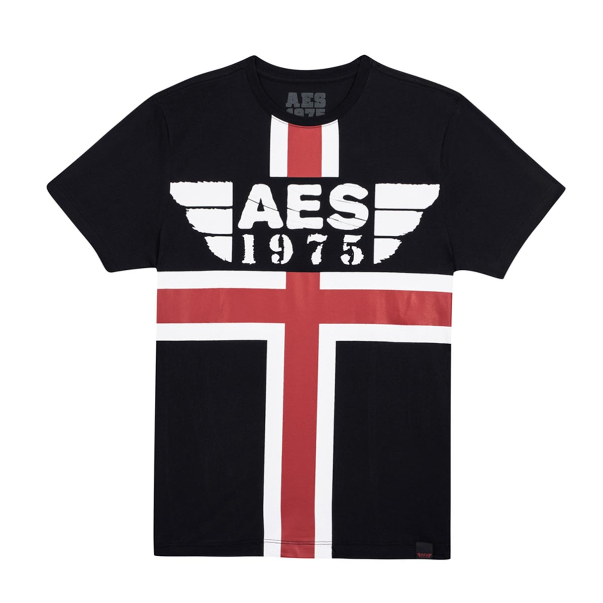 Camiseta AES 1975 Red and White Stripes