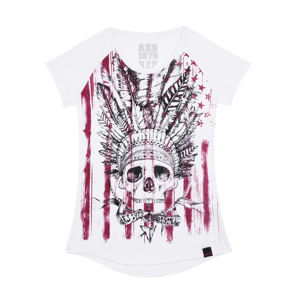 Camiseta AES 1975 Skull Cook
