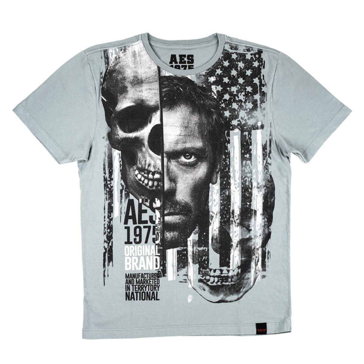 Camiseta AES 1975 Skull Face