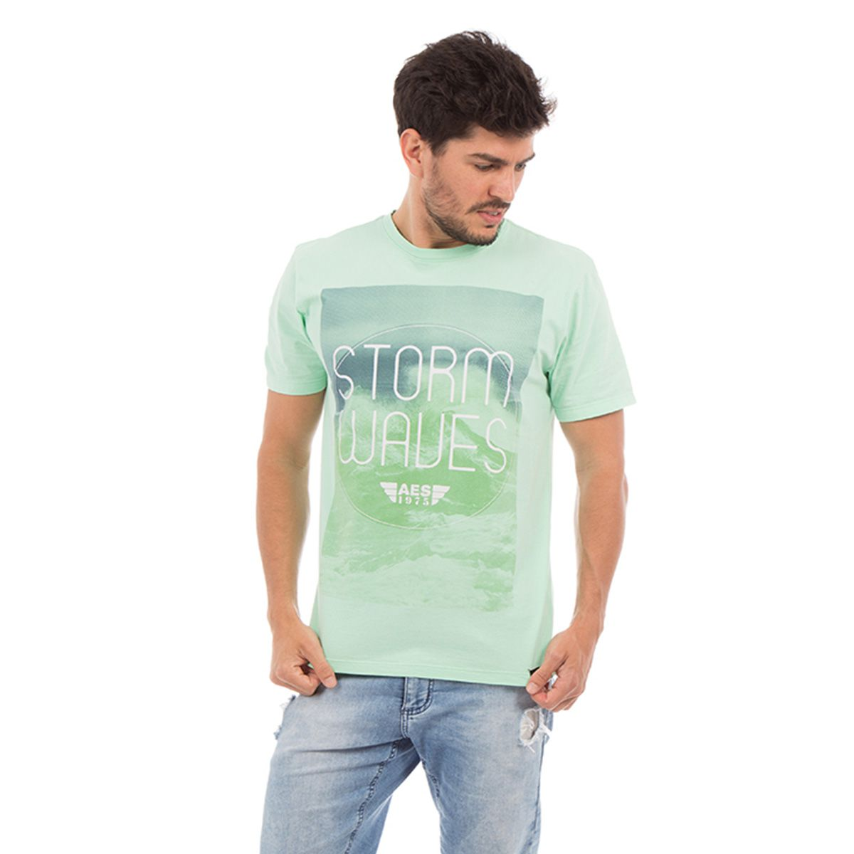 Camiseta AES 1975 Storm Waves
