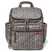 Bolsa Maternidade Forma Blackpack Grey Feather  Skip Hop Ref