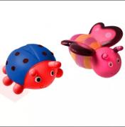 Brinquedos de Banho Borboleta e Joaninha - Girotondo