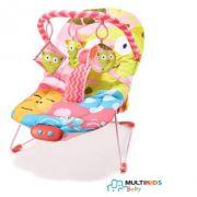 Cadeira de Descanso Para Bebe 0 a 15 kg Gato - Multikids Baby Ref Bb361