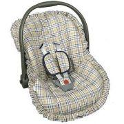 Capa Para Bebê Conforto Xadrez  Batistela Ref