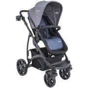 carrinho de bebê Explore preto com azul - Kiddo Ref 5219aaz