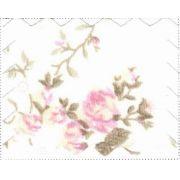 Jogo Lençol Carrinho Sem Bordado Floral Liberty Tricoline - ac Baby Ref 03069 38 u