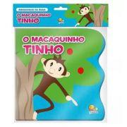 Livro de Banho Amiguinhos da Água Macaquinho Tinho - Todolivro Ref