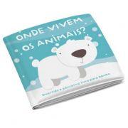 Livro de Banho Onde Vivem os Animais - Multikids Ref Bb