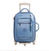 Mala de Rodinha 1 Compartimento Fauna Azul - Masterbag Ref 11fau405