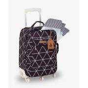 Mala Rodinha Preto Manhattan - Masterbag Ref 12man404p