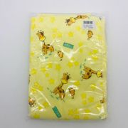 Manta Malha Dupla Face Amarelo Girafa - Caricia Minasrey Ref