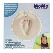 Massa Para Impressão Digital do Bebê 50g 1 Pézinho - Momo Kitstar Ref 5540