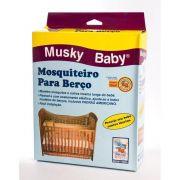 Mosquiteiro de Berço - Musky Baby