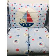 Protetor de Berço Marinheiro Azul - Bambi Incomfral Ref 02002500010013
