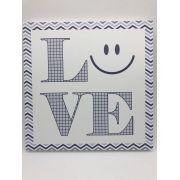 Quadro Moderninho Love Smile - Divino Talento Ref 7246